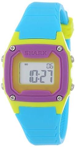 Freestyle Unisex 102274 Shark Blue/Neon Yellow/Purple Watch (Freestyle Shark Green Watch)