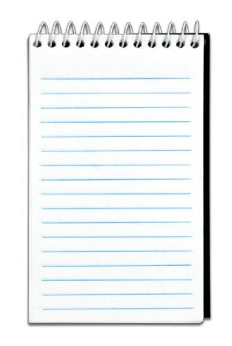 Cardinal Brands 8050 Narrow-ruled Memo Book 3 X 5 White 50-sheet ()