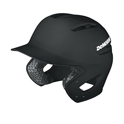 DeMarini Paradox Batting Helmet, Black, - Helmet Baseball