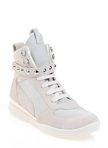 Geox - Zapatillas de Piel para mujer Gris gris gris