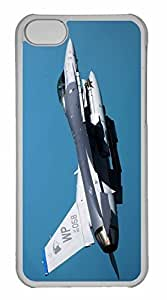 iPhone 5C Case, Personalized Custom War Airplane 73 for iPhone 5C PC Clear Case