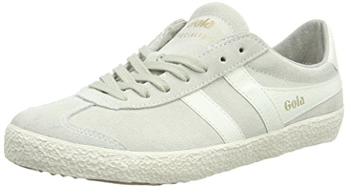 Gola Women's Specialist Sneaker,Off White/White Suede,US 7 M