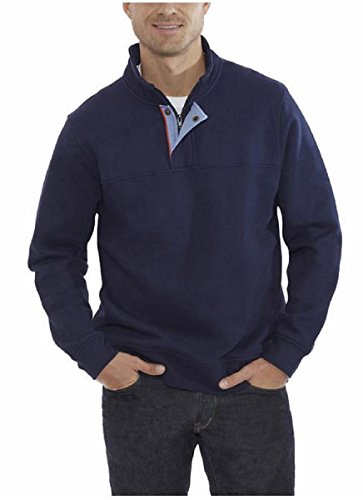 Orvis Mens Signature Pullover (XL, Blue)