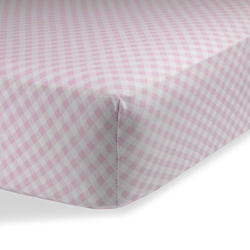 Fitted Knit Crib Sheet - Best Crib Sheet for Baby - Infant | Toddler 100% Cotton Jersey Knit Deep Fitted Bed Sheet (28