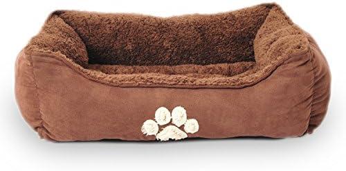 Sofantex Pet Bed Fit Medium Sized Dog Fat Cat, Machine Washable, Ultra Soft Pet Sofa