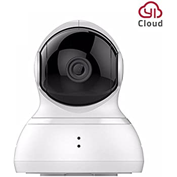 YI Dome Camera Wireless, 720P Pan/Tilt/Zoom Security Camera IP Camera with Motion Detection and Night Vision, Remote Monitor with iOS, Android App (Cloud Service Available)