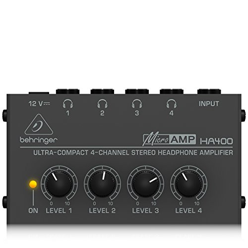 Large Product Image of BEHRINGER MICROAMP HA400