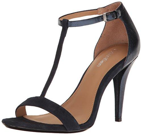 Navy Women's Heeled Nasi Calvin Klein Sandal wzSqY08