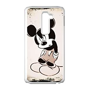 LG G2 Cell Phone Case White Disney Mickey Mouse Minnie Mouse as a gift H4081567