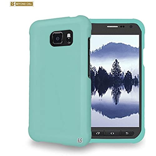 For Samsung Galaxy S7 Active Hard Heavy Duty slim fit protective Case [Mint/Light Green] Sales