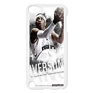 Best Phone case At MengHaiXin Store Onshop Custom Allen Iverson Pattern Phone Case Laser Technology Pattern 146 FOR Ipod Touch 5