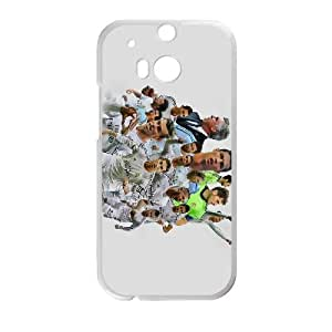 Sports real madrid HTC One M8 Cell Phone Case White gift zhm004-9324438