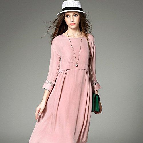 Mode Sexy Vintage Frauen Sommer Chiffon Spitze Kleid Lay Mädchen ...