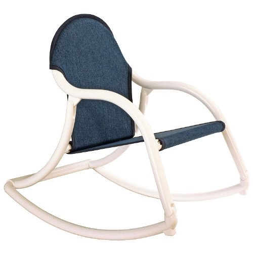 Hoohobbers Rocking Chair, Denim