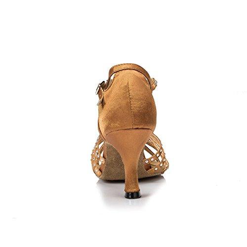Minitoo ,  Damen Tanzschuhe , beige - beige - Größe: 37.5