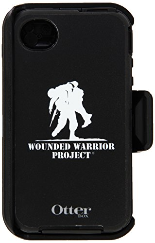 Otterbox Cell Phone Case for iPhone 4S - Retail Packaging - Wounded Warrior