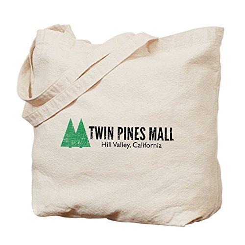 CafePress diseño de Twin Pines Mall–Gamuza de bolsa de lona bolsa, bolsa de la compra