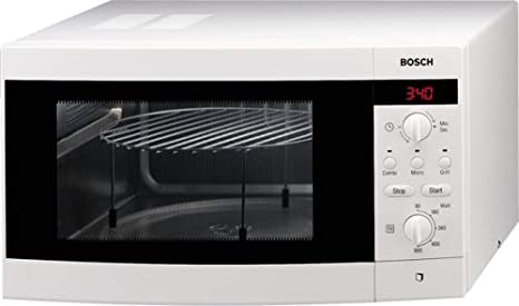 Bosch HMT872L Encimera 25L 900W Blanco - Microondas (Encimera, 25 ...