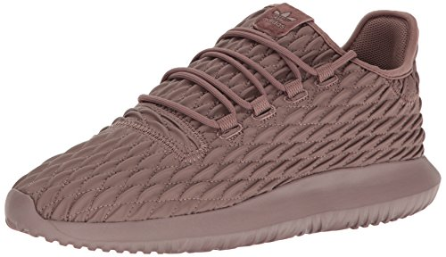 Image of adidas Originals Men's Shoes | Tubular Shadow Fashion Sneakers, Trace Brown/Black, (10.5 M US)