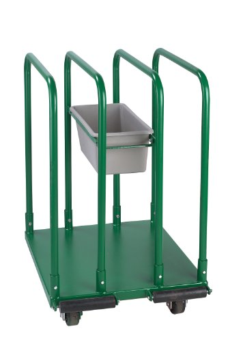 Wesco-Industrial-Products-272226-Steel-Standard-Greenline-Panel-Cart-1543-lb-Load-Capacity-32-L-x-27-W-x-43-H