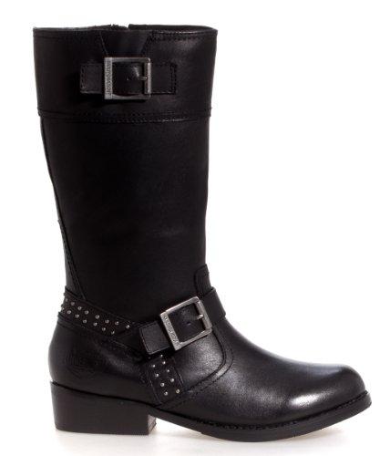 Harley-Davidson Womens Hayley Black Boot 5 B - Medium