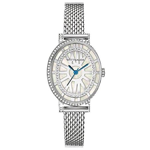 Bulova Wittnauer Ladies Bracelet (Wittnauer - WN4038 Crystal Stainless Steel)