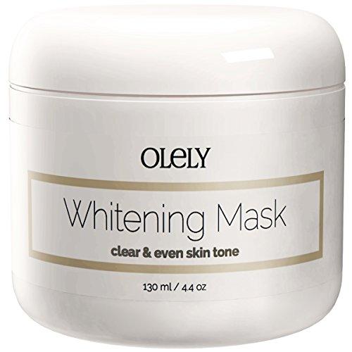 Peau Masque Crème éclaircissante - Le meilleur traitement éclaircissant pour le visage, le cou et les zones intimes