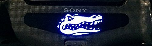 Fathead Vinyl (MightySticker® PS4 Designer Controller LED Light Bar Decal Vinyl Stickers Playstation 4 B Game Sports Fan Football Team - NCAA Florida Gators Crocodile Alligator Fathead Logo Sign (1pc))