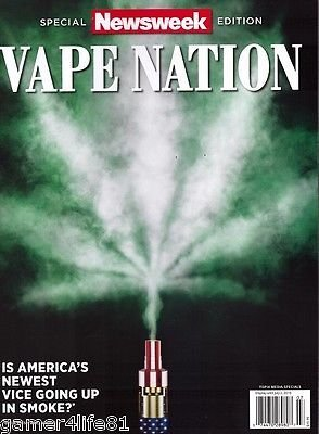 NEWSWEEK SPECIAL VAPE NATION 2016 NEW/UNREAD