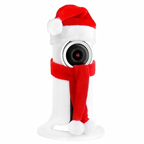 Christmas Baby Monitor WiFi Camera, CAMVIEW Wireless Security IP Camera with 2-way Audio, Remote Smartphone View