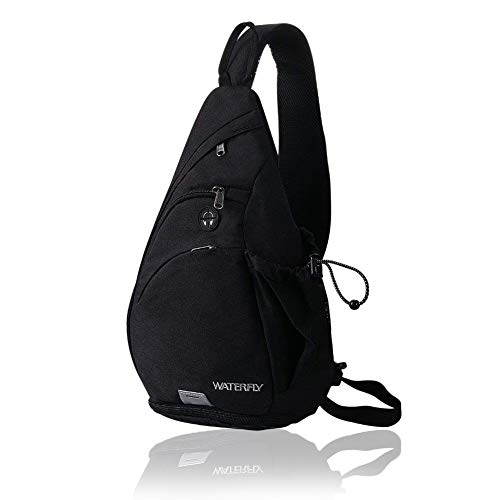 Shoulder Bag Backpack Cross - Waterfly Sling Backpack Sling Bag Small Crossbody Daypack Casual Backpack Chest Bag Rucksack for Men & Women Outdoor Cycling Hiking Travel