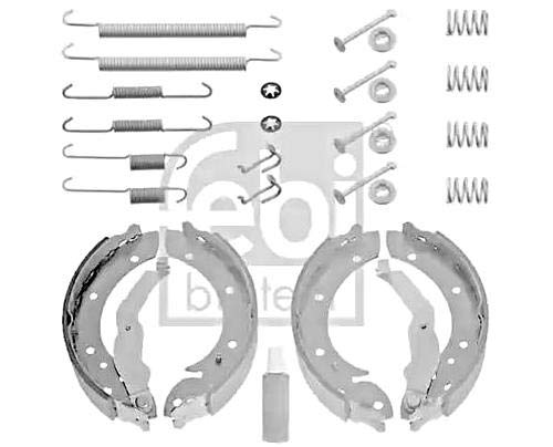 Brake Shoe Set Rear FEBI For BMW E36 90-00 34219067127