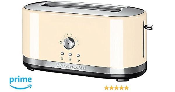 KitchenAid 5KMT4116 2rebanada(s) 1800W Crema de color - Tostador ...