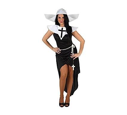 Atosa-39527 Disfraz Monja, Color Negro, XL (39527): Amazon.es ...