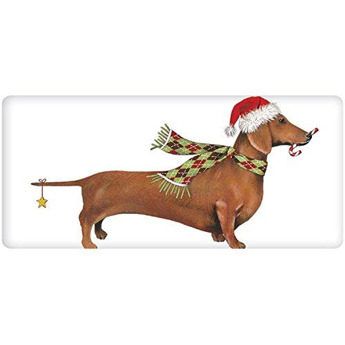 UPC 879698058934, Mary Lake-Thompson - Holiday Dachshund Bagged Towel