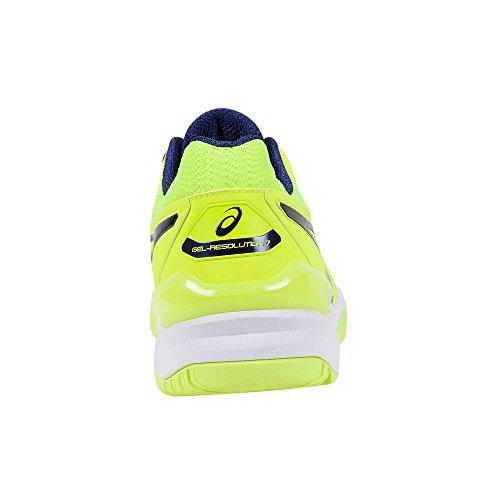 De Gel Asics resolution Chaussures 7 Yellow Tennis Homme wIRZqdRa