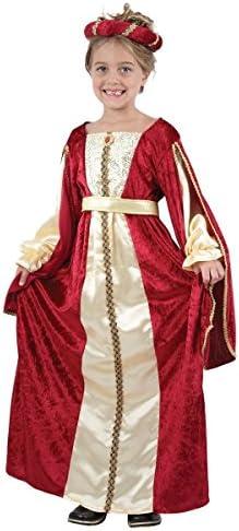 Disfraz de reina medieval para niña: Amazon.es: Juguetes y juegos