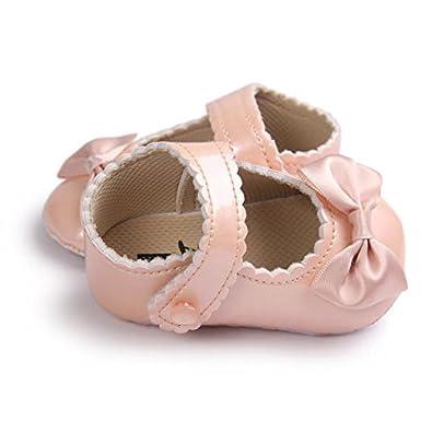 Xturfuo Girls Soft Round Toe Princess Dress Flat Shoes Mary Jane Dress Shoes