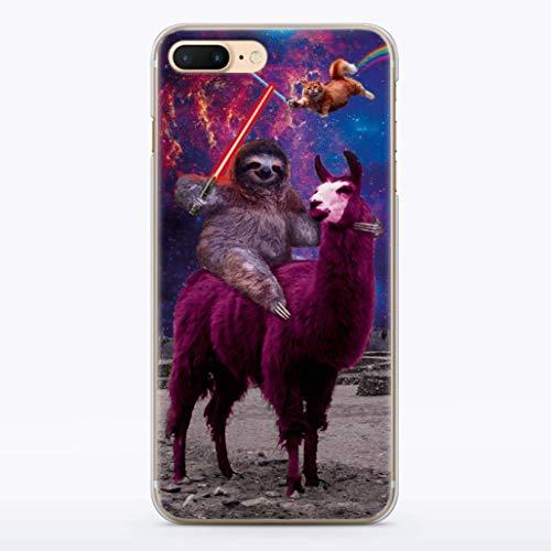 Funny Star Wars Sith Rainbow Cat Sloth LLama Squad Case iPhone 10 X XS Max XR 8 8s 8plus 7 6 6S 6plus 7plus 6splus 7plus 7s Plus 4 4S 5 5S 5C SE 5se Fandom t-shirt Cases Cell i Phone Cover MA1304 ()