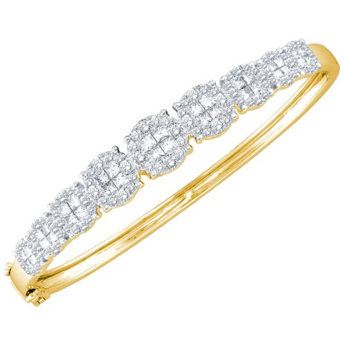 2 Total Carat Weight DIAMOND FASHION BANGLE by Jawa Fashion
