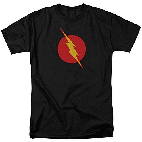 DC Comics Reverse Flash Logo Adult Mens T-Shirt Black