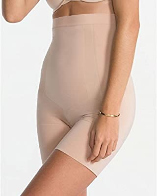 SPANX Womens Oncore High-Waisted Mid-Thigh Short from Spanx