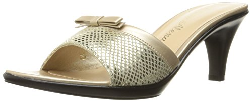 Athena Alexander Womens Elated Dress Sandal Gold Snake