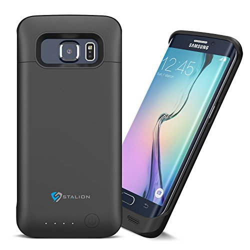 Galaxy S6 Edge Battery Case: Stalion Stamina 3500mAh Rechargeable Power Bank Case