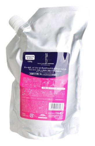 - Milbon Deesse's Neu Due VelourLuxe Hair Treatment - 35.3 oz refill