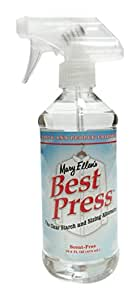 Mary Ellen's Best Press Clear Starch Alternative 16 Ooz, Scent Free
