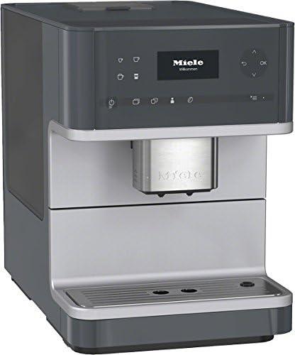 Miele CM6110 Stand – Cafetera automática (Aroma Tic y OneTouch for Two de OneTouch, sistema de preparación, estrujador automático y programas de limpieza) plata: Amazon.es: Hogar