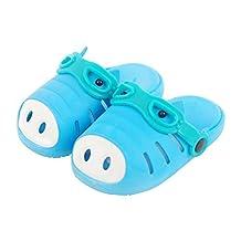Ozkiz Girls Children Kids Water Sport Garden Clogs Shoes Pig Patterned