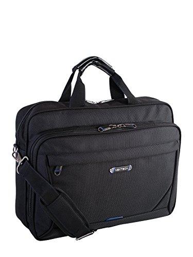 2081585932 NEXTECH NXT1013009 Concord Deluxe Slim Brief Messenger Bag