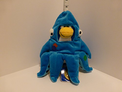 VALUE DEAL - SAVE $6.00 - SUPER JUMBO 12'' Squidzoid by Disney Club Penguin Plush - VALUE DEAL = Just the Puffle - No Coin or Code - This is a RARE Collector's Item by Club Penguin